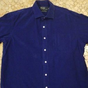 Ralph Lauren Westerton Luxury Corduroy shirt